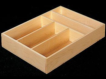 Bread Box Cutlery Tray Double Decker Cutlery Drawer Box
